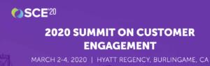 2020 SUMMIT ON CUSTOMER ENGAGEMENT